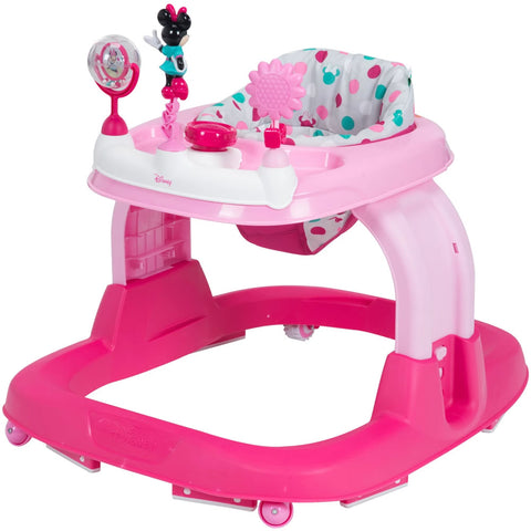 Safety 1st Ready Set Walk 2.0 Walker, Minnie Dot Fun
