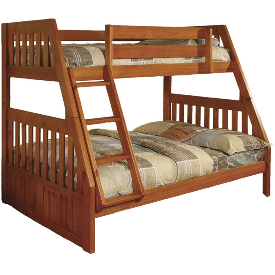 NE Kids Honey Mission Twin/Full Bunk Bed