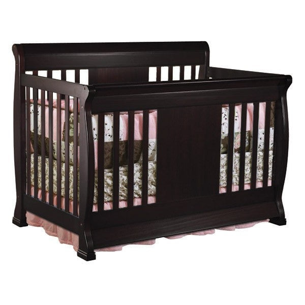 NE Kids Charleston Crib in Chocolate