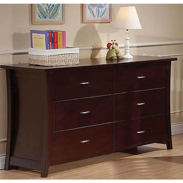 Pali Design Carrigan Double Dresser in Espresso