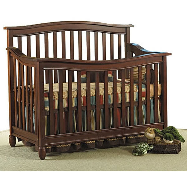 Pali Design Wendy Forever Crib - Chocolate
