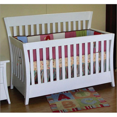 Pali Design Carrigan Forever Crib - White