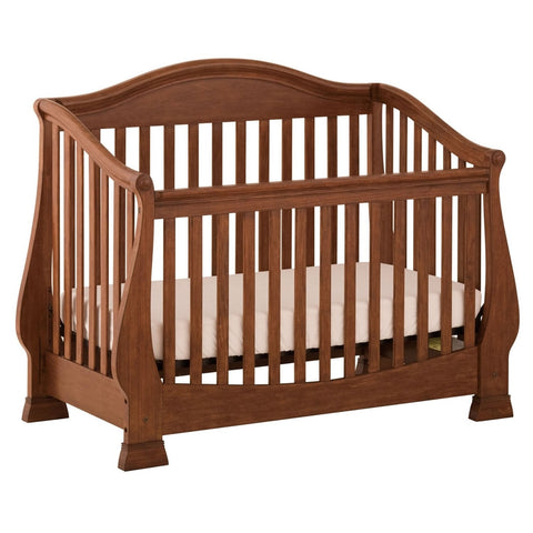 Status Furniture Series 300 Stages Convertible Crib, Walnut