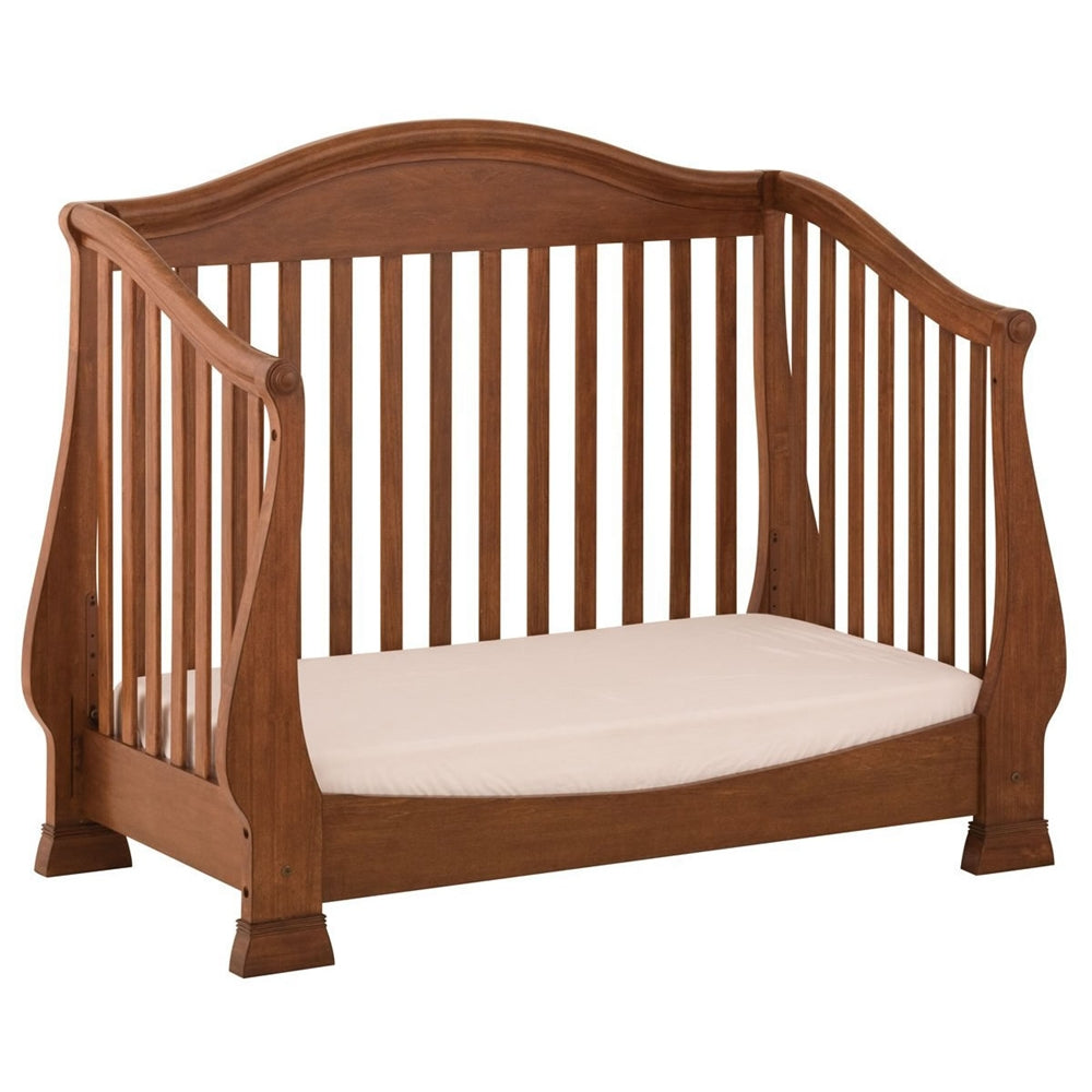 ... Walnut Status Furniture Series 300 Stages Convertible Crib, ...