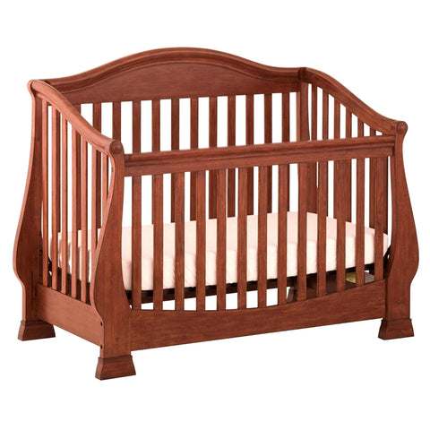 Status Furniture Series 300 Stages Convertible Crib, Mahogany