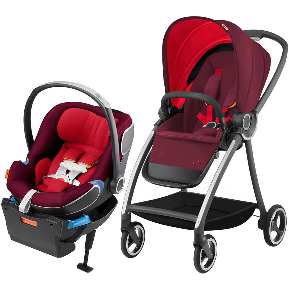 GB Maris Travel System Stroller - Dragonfire Red