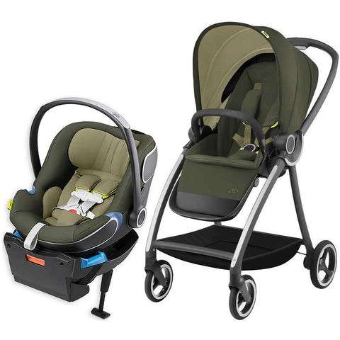 GB Maris Travel System Stroller - Lizard Khaki