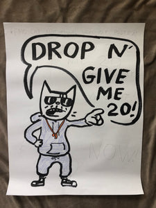 ORIGINAL POSTER - Drop N' Give Me 20!