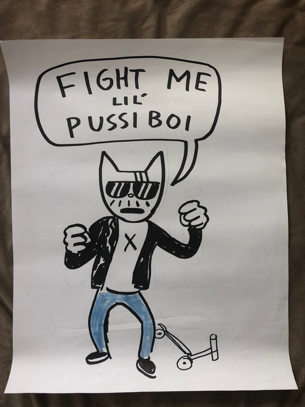 ORIGINAL POSTER - Fight Me