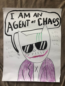 ORIGINAL POSTER - Agent of Chaos