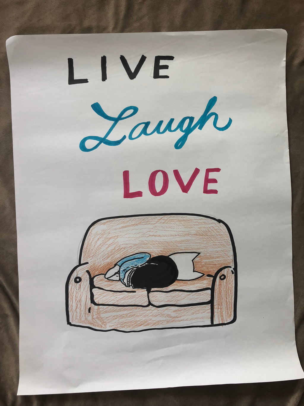 ORIGINAL POSTER - Live Laugh Love