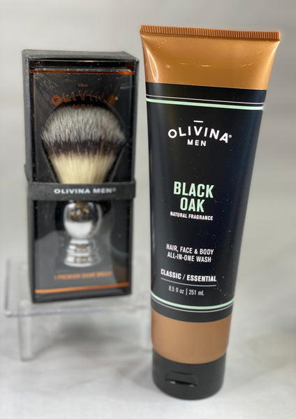 All-in-one Black Oak wash for Men