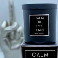 9oz Calm the F*ck Down Candle - Scent of Living