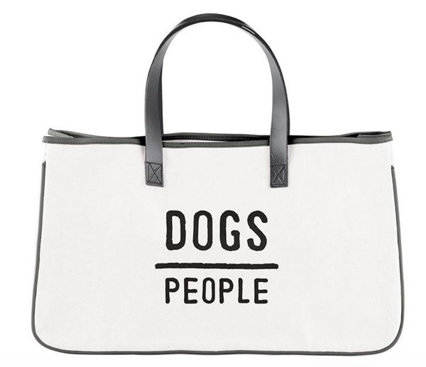 Canvas Tote - Dogs People