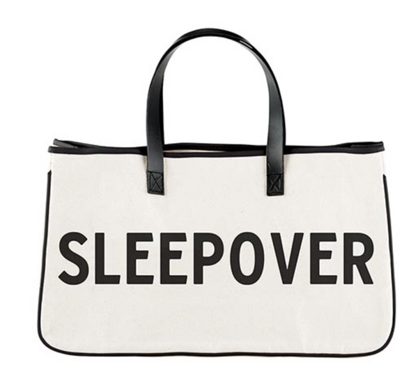 Canvas Tote - Sleepover