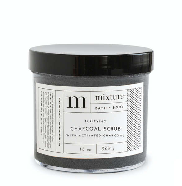 13oz Charcoal Scrub