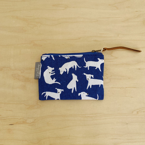 FRINGE STUDIO DOG COIN POUCH