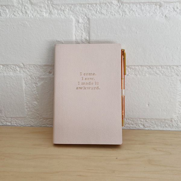 FRINGE STUDIO MADE IT AWKWARD JOURNAL WITH SLIM PEN
