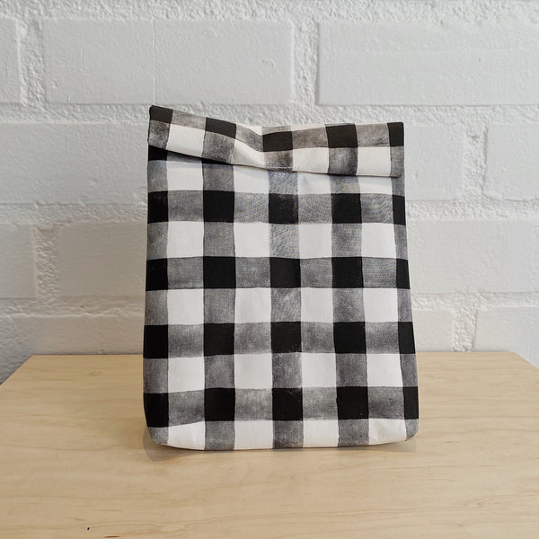 WASHABLE PAPER LUNCH BAG (5 COLORS)