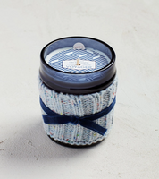 Voyager 10 ounce Cozy Candle with Sweater Sleeve