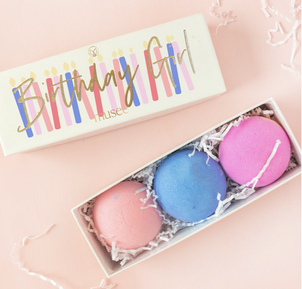 Birthday Girl 3 Bath Balm Set