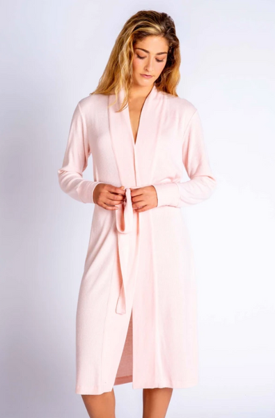 Textured Robe Blush