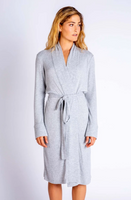Textured Robe Grey