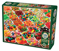 500 Pieces Jigsaw Puzzle Sugar Overload