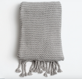 Organic Cotton Comfy Knit Blanket