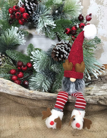 Shelf Sitter Gnome with Antlers
