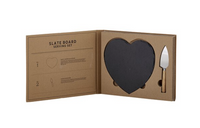 Cardboard Book Set - Slate Board Serving Set