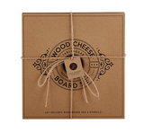 Cardboard Book Set - Wood Cheese Board