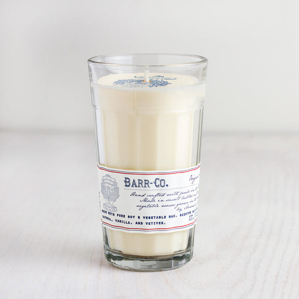 BARR CO. Parfait Glass Candle