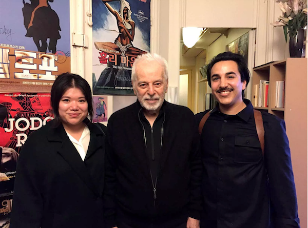 Alejandro Jodorowsky with Steph Choi and Tony Candelaria