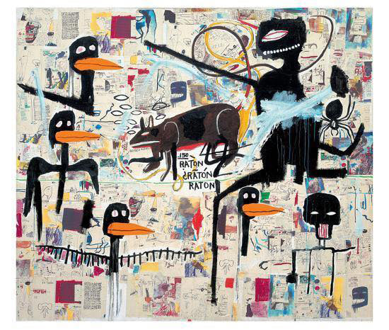 "Jean Michel Basquiat ""Tenor"