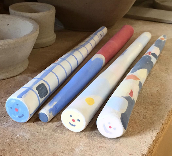 Ceramic Magic Wands