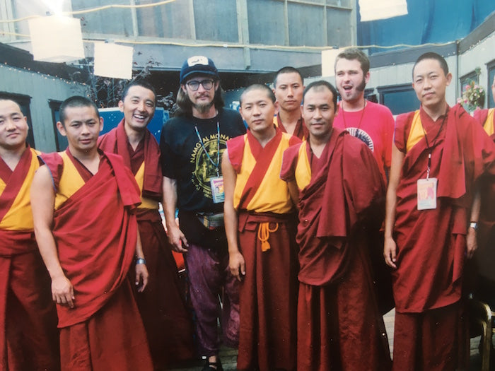 Tibetan Monks on Lollapalooza tour