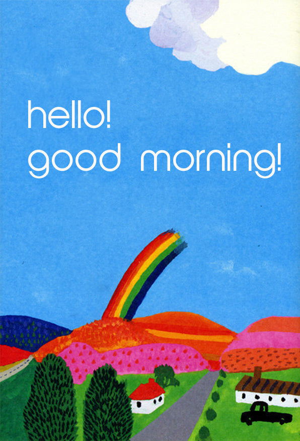 Hello! Good Morning! Gift Card