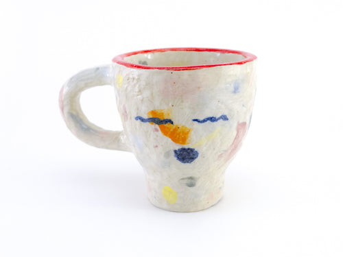 mixed color coffee mug