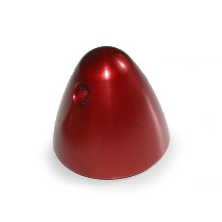 "1/4""-28 ALUMINUM PROP NUT (Red)"