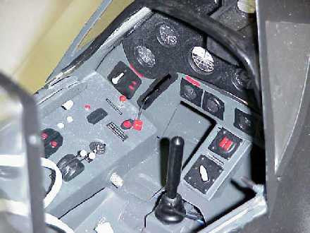 FW-190 Master Series Interior