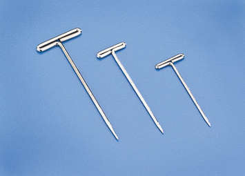 "NICKEL PLATED T-PINS 1.25"" (31.75mm)"