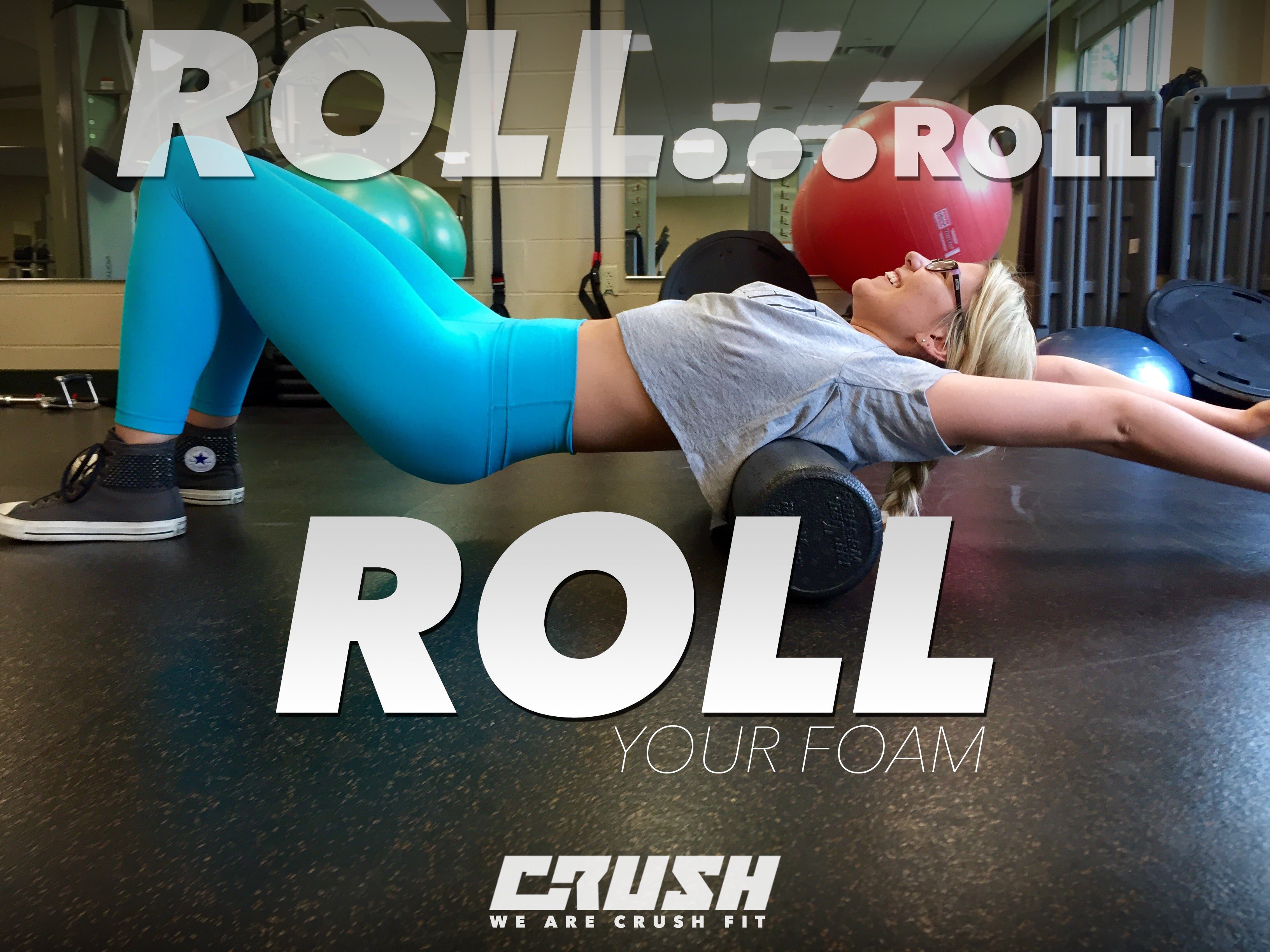 Crush-Fitness-Nika-Foam-Rolling