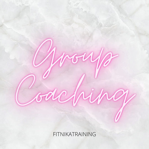 Group Coaching - 4 weeks