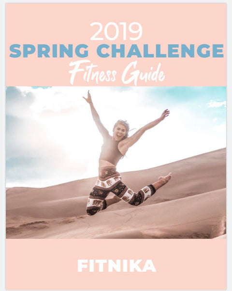 Spring Challenge Workouts *Home version*