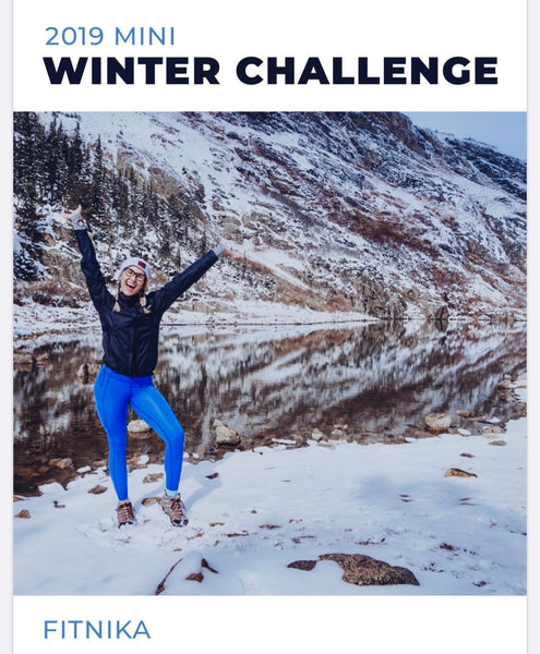 Winter Challenge Workouts *Home version*