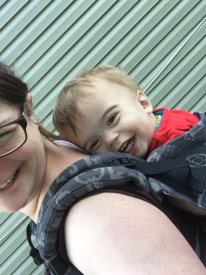 Babywearing is My Super Power Over PPD