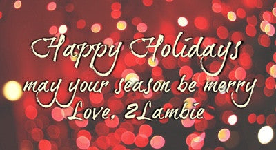 2Lambie Holiday Survival Guide