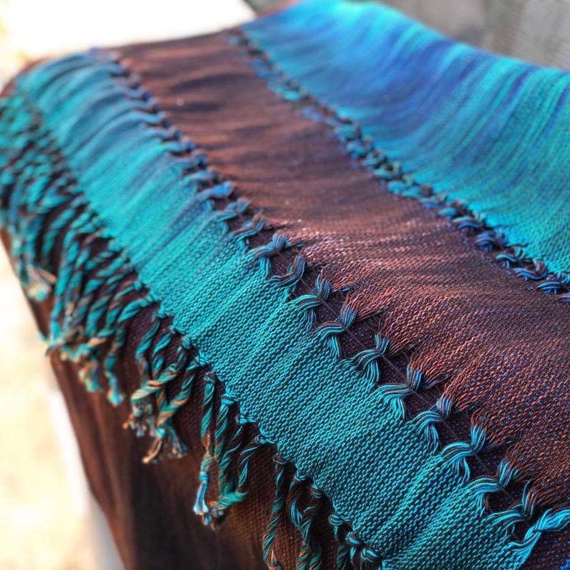 Handwoven Fabric - Handwoven Honey - Bronze Brilliance