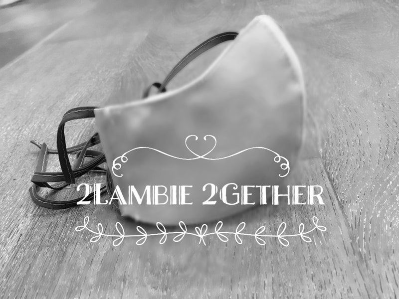 2Lambie 2Gether Face Masks - Sold out